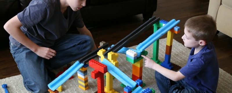 Get hands-on engineering with a homemade marble run