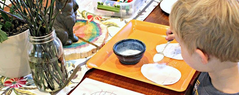 Easy kitchen table STEM activities for kids of all ages